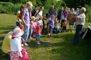 Heute zu Gast die Kinder vom Kindergarten Ubstadt